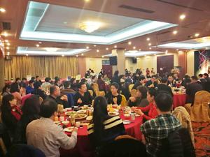 中国海洋大学管理学院EMBA总裁研修班2017新年联谊晚会报道
